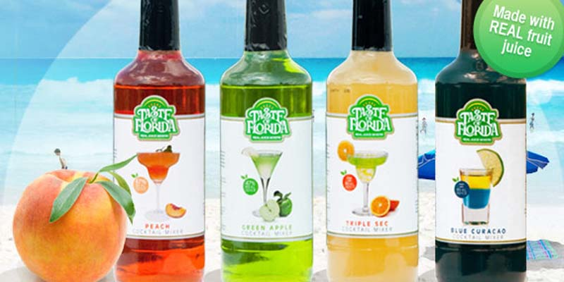 Taste of Florida Premium Mixers
