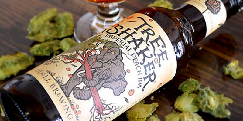 Odell Tree Shaker Imperial Peach IPA Returns