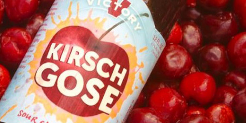 Victory Releases Kirsch Gose Sour Cherry Bier