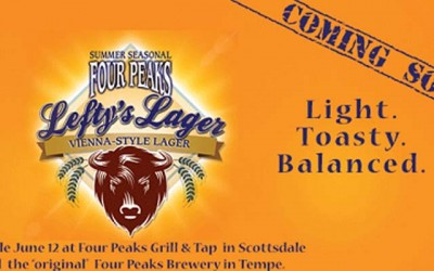 Four Peaks Lefty's Lager Seasonal Release