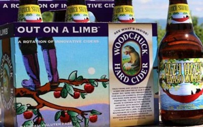 NEW Lazy Hazy Lemon Crazy Cider Shandy from Woodchuck