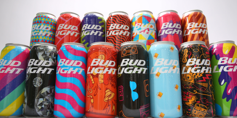 Bud Light Mad Decent Limited Edition Cans