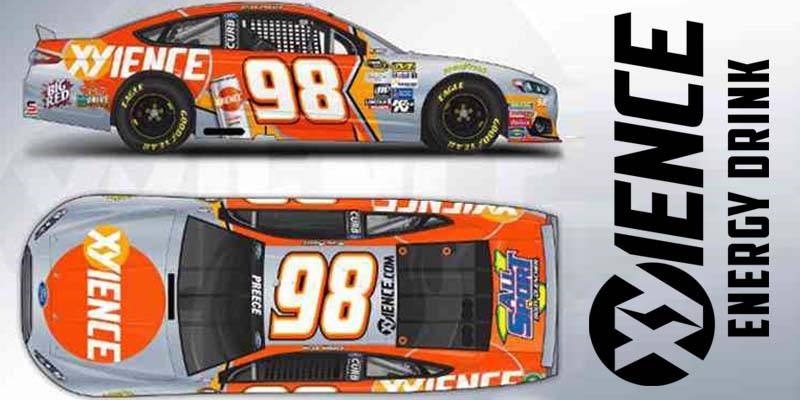 Xyience sponsors Ryan Preece #98