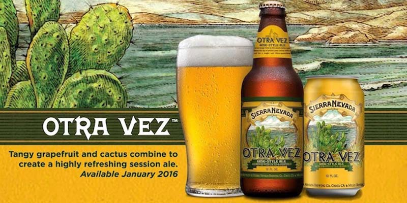 Introducing Sierra Nevada Otra Vez Gose-Style Ale