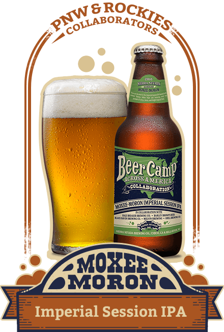 Moxee-Moron Imperial Session IPA (7.5% ABV)