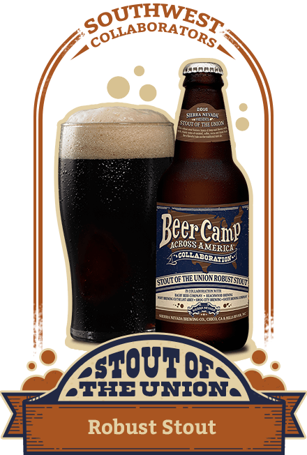 Stout of the Union Robust Stout (7.3% ABV)