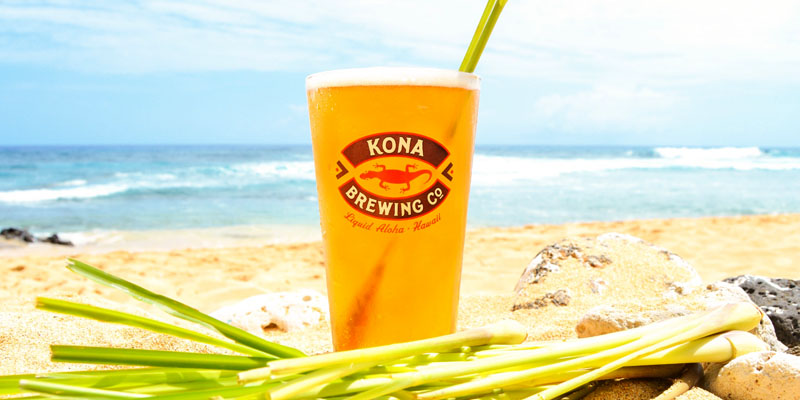 Kona Brewing Releases Lemongrass Luau