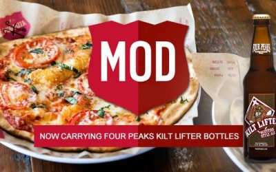 Now Available at MOD Pizza- Four Peaks Kiltlifter!