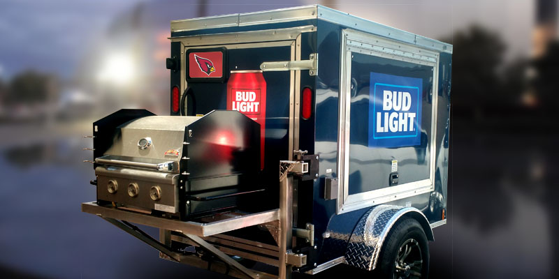 Bud Light Tailgate Trailer