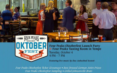 Four Peaks Oktoberfest Happy Hour Pre-party!