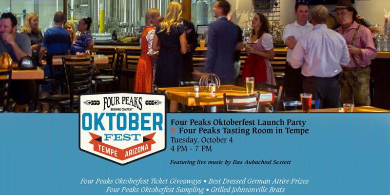 Four Peaks Oktoberfest Happy Hour Pre-party!