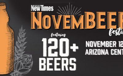 Phoenix New Times Announces NovemBEER