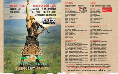 Introducing the Celtic Music and Micro Brew Festival