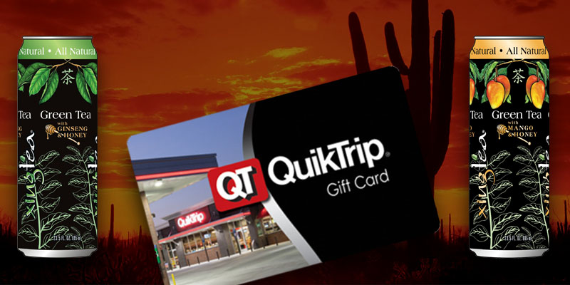 Your recipient receives a beautiful, full-color, personalized eGift Card that can be redeemed at QuikTrip locations in the US. a Gift Card at home. Mail a Gift Card. Choose from three convenient shipping options. Personalize your gift with a greeting. Gift Cards can be redeemed at QuikTrip locations in the US. This site is powered by.