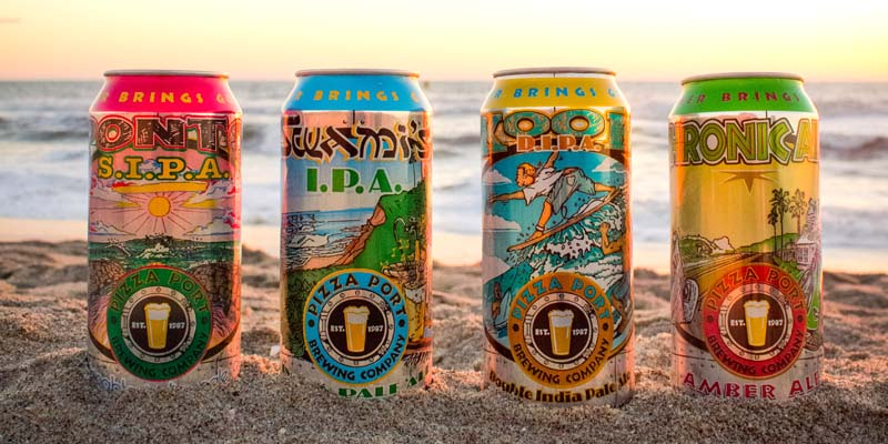 Hensley Announces Statewide Distribution of Pizza Port Brewing Company