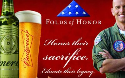 Budweiser Sets Goal of Raising $1 Million for Folds of Honor via Limited Edition Patriotic Packaging