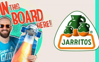 Jarritos Skateboard Sweepstakes