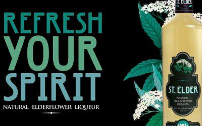 Introducing St. Elder Natural Elderflower Liqueur