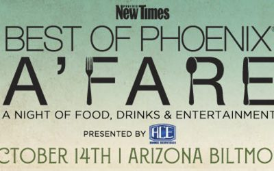 Phoenix New Times Announces Best of Phoenix A'fare