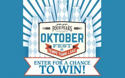 Four Peaks Oktoberfest 2017 Sweepstakes