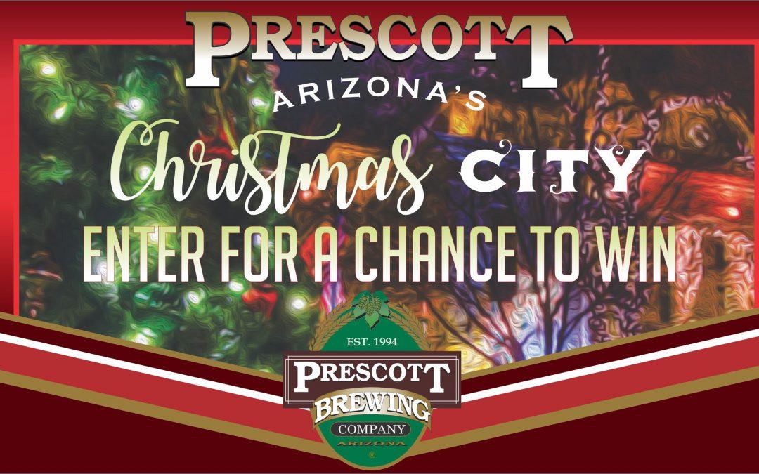 Prescott Brewery Christmas City Tree Lighting Sweepstakes