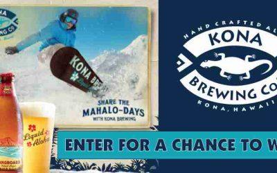 Kona Snowboard Sweepstakes