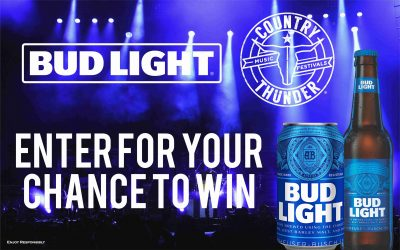 Bud Light Bring the Thunder 2018 Sweepstakes