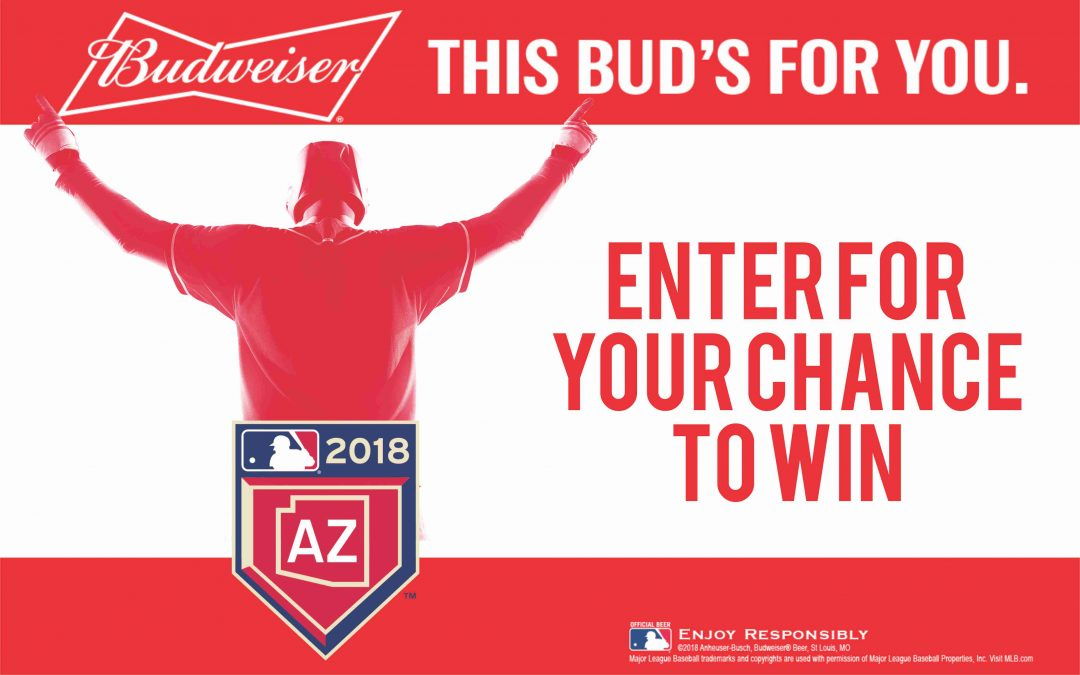 Budweiser 2018 Spring Training Sweepstakes