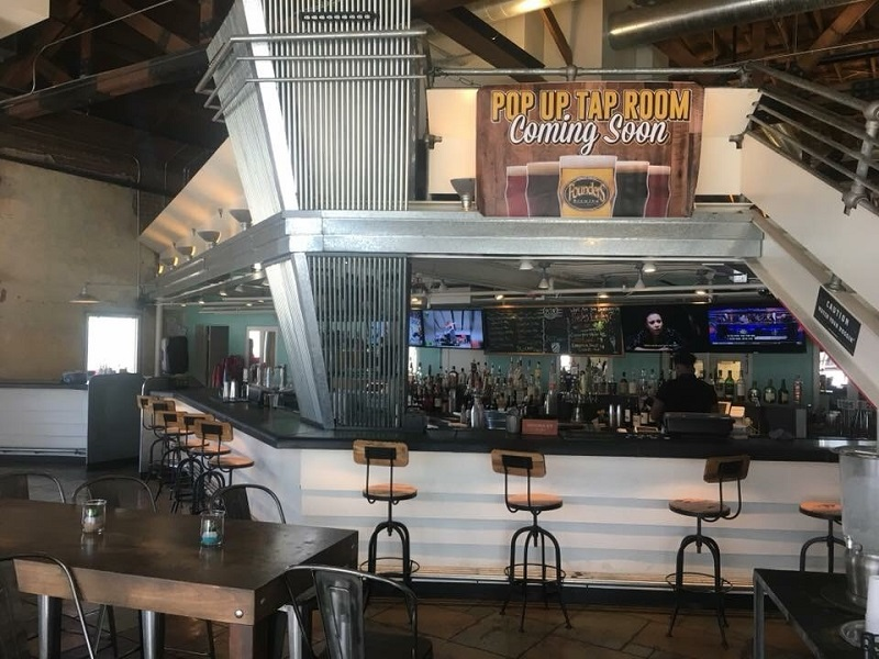 Founders Brewing Company Takes Over The Pop Up Tap Room Series at DeSoto Market