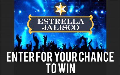 Estrella Jalisco Concert Series Sweepstakes