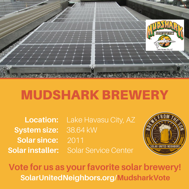 Mudshark Brewery Social Media Graphic