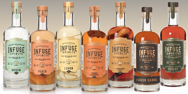 Infuse Spirits Craft Vodka