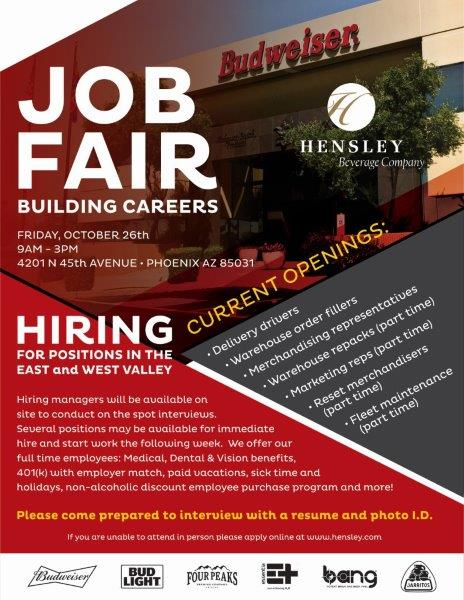 Hensley Job Fair 2018