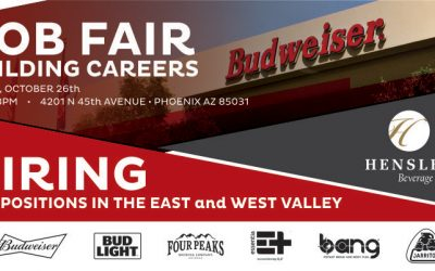 Hensley Beverage Company to Conduct JOB FAIR October 26, 2018