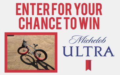 Michelob Ultra Fat Boy Bike Sweepstakes