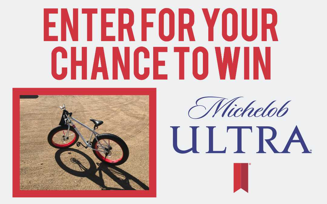 Michelob Ultra Fat Boy Bike Sweepstakes