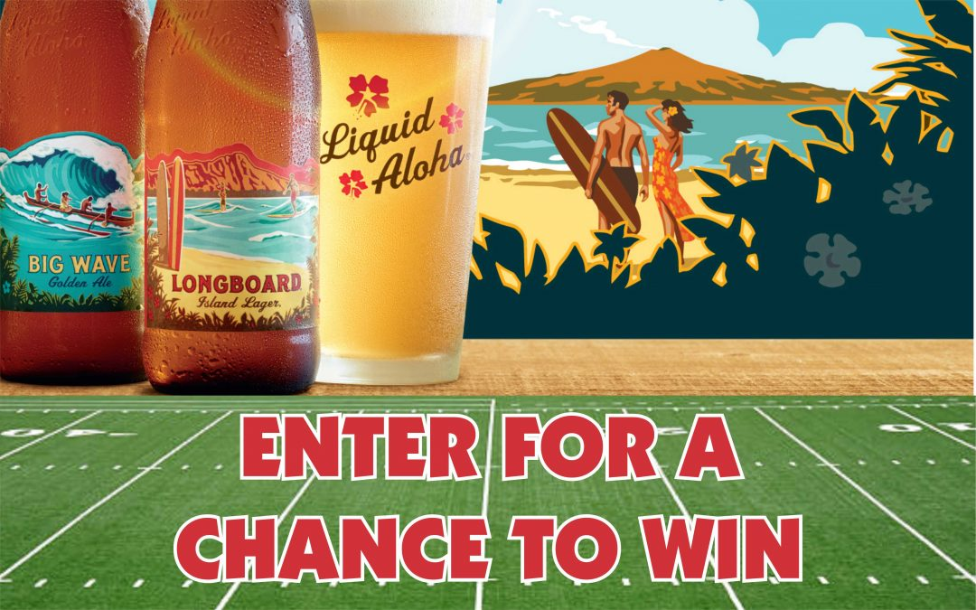 Kona Touchdown Big Game Party Sweepstakes