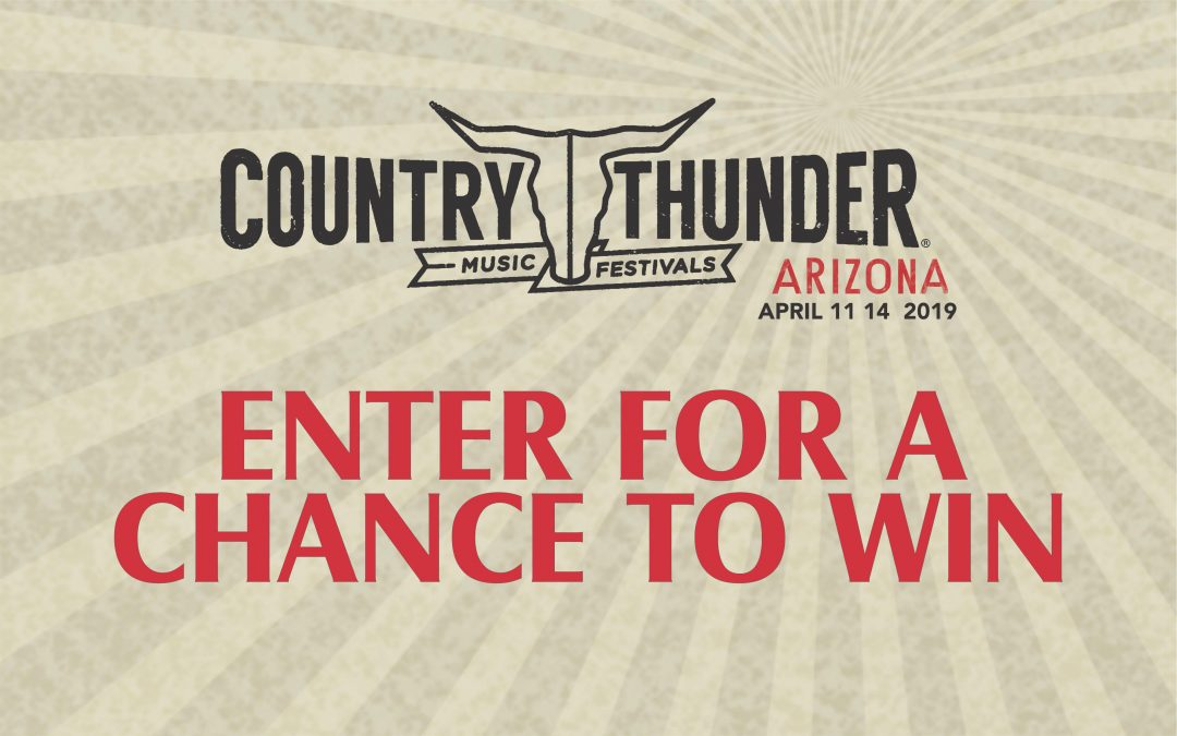 Bring the Thunder 2019 Sweepstakes