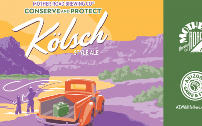 Mother Road Releases Conserve and Protect Ale With Game and Fish