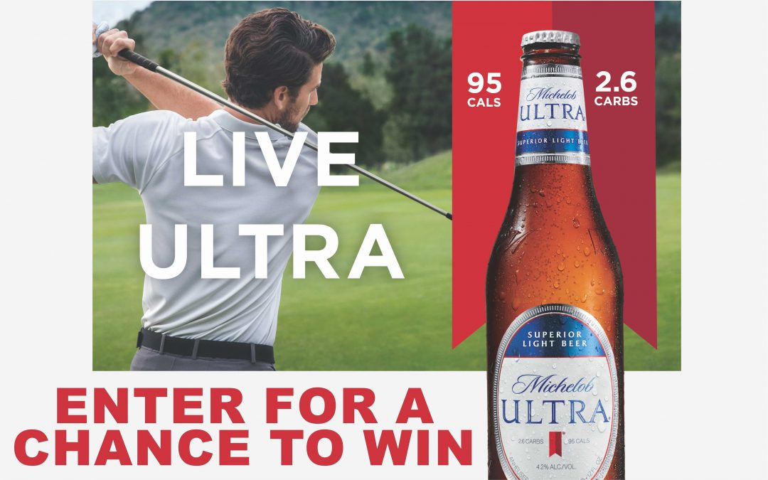 Michelob Ultra 2019 Golf Sweepstakes
