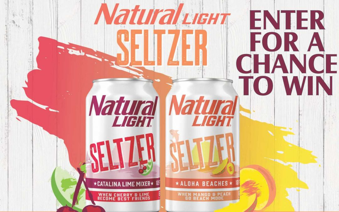 Natural Light Seltzer Corn Hole Board Sweepstakes