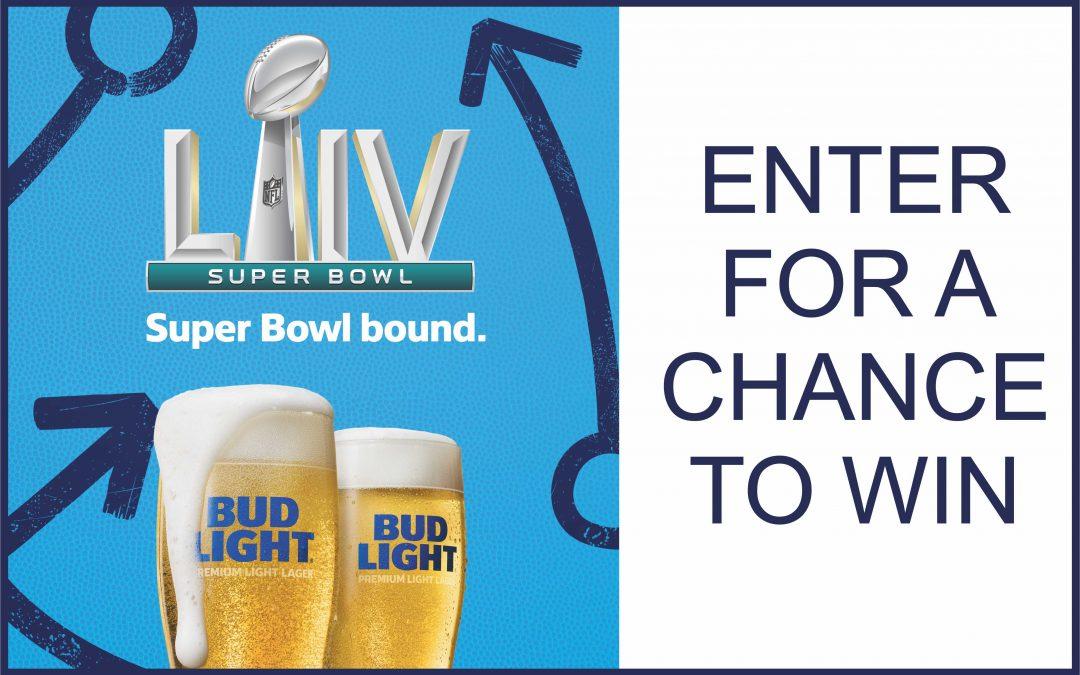 Bud Light Super Bowl Sweepstakes