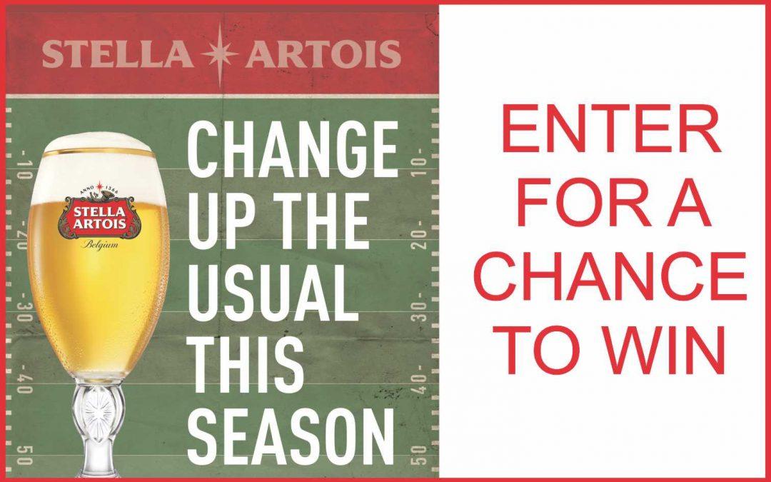 Stella Artois Super Bowl Sweepstakes