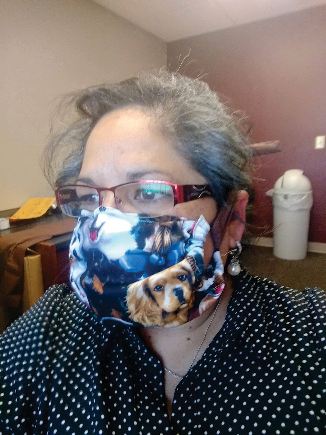 optimized Mary Willey in homemade mask