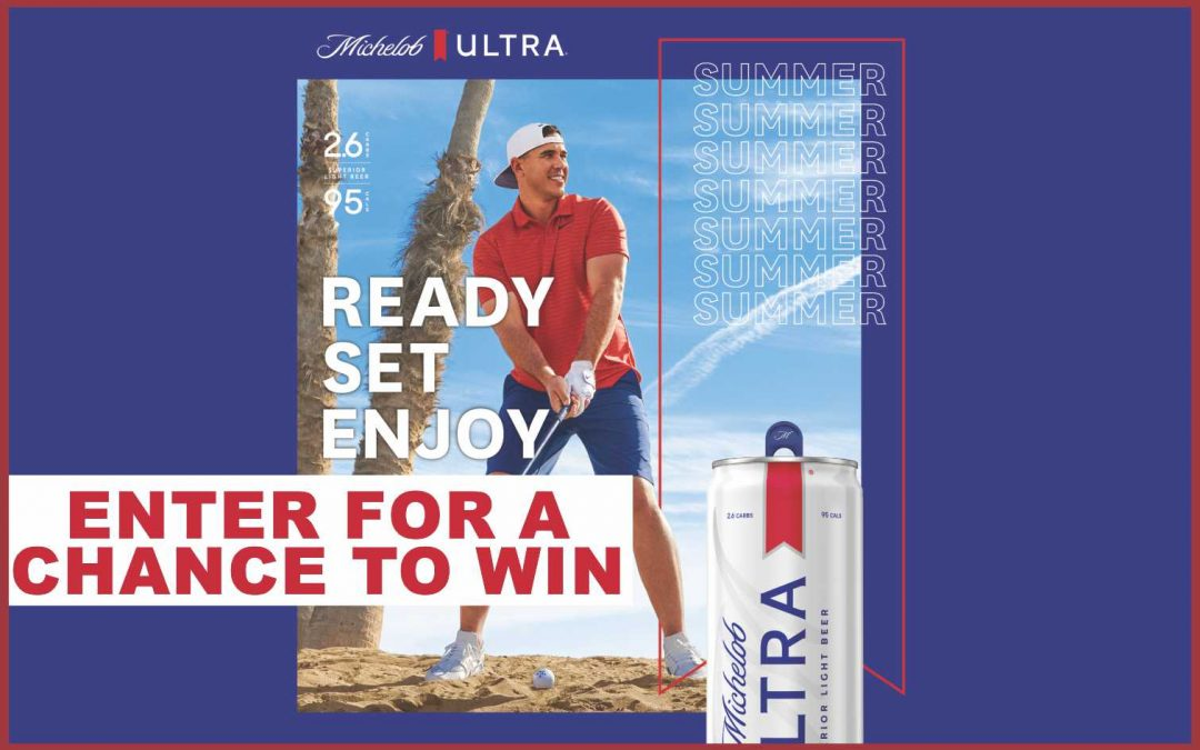 Michelob Ultra Golf Sweepstakes