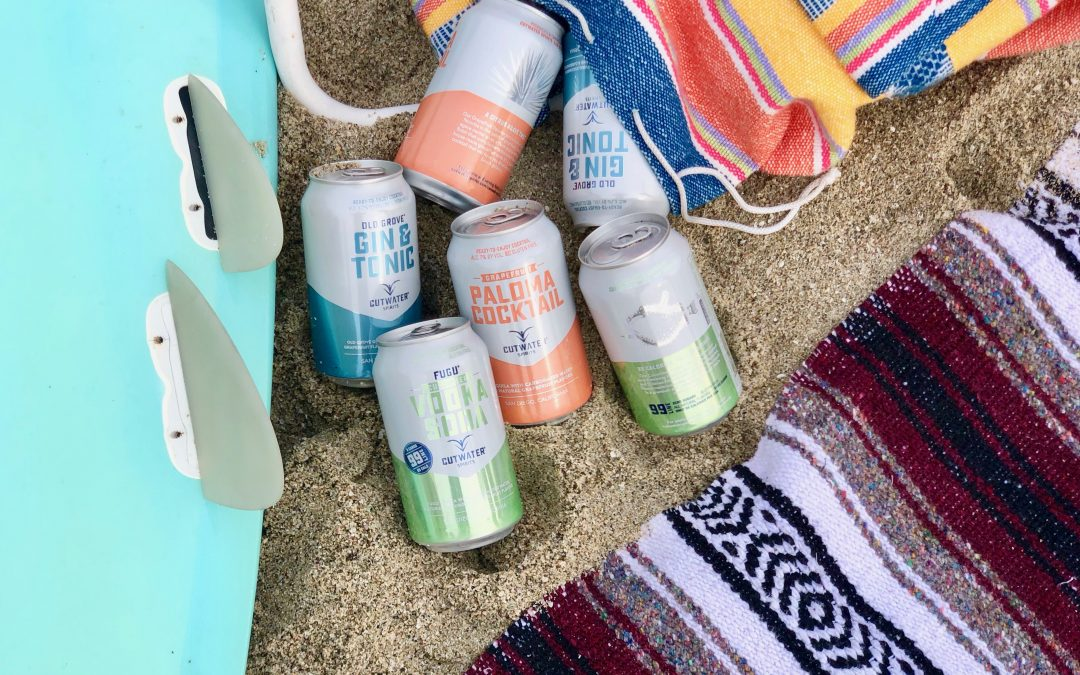 New Cutwater Canned Cocktails are a Must for Spring and Summer