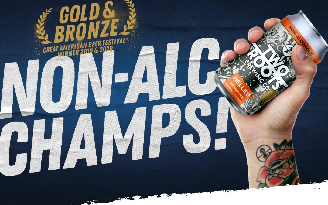 Celebrate Two Roots Brewing For Award Winning Non-Alcohol Beer Coming to Arizona